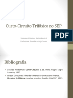 Curto-Circuito Trifásico No SEP