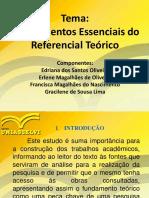 SLID- Os Elementos Do Referencial Teórico