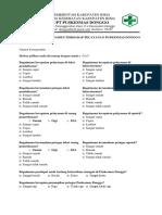 BAB 7.1.1.02 Quesioner Survei Kepuasan Pasien Terhadap Pelayanan Klinis Puskesmas Donggo