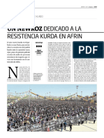 Un Newroz dedicado a la resistencia kurda en Afrin
