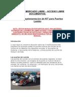 Manual de Implementación de KIT Para Puertas Lambo