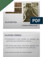 CharlesTuruda.Dilatometria