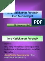 B. Thanatologi
