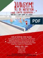 Cours Piscine Cdc 2018