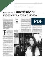 La diáspora anatolia, entre el caudillismo de Erdogan y la fobia europea
