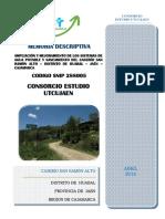 Memoria Descriptiva Sra (PDF)