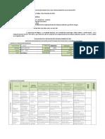 Informe Educacion Ambiental
