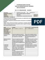 Formulación y Evaluación de Proyectos- (Administración)