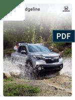 MY19 Ridgeline Brochure Model Site PDF