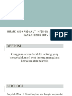 Devy - Infark miokard anterior luas + inferior