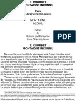 Courbet Montaigne Inconnu
