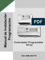 Especificaciones TP02