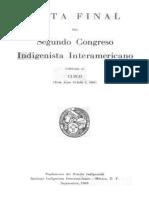 Segundo congreso indigenista