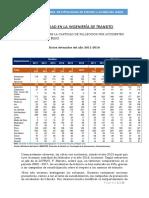 Estadísticas Actuales de Infracciones de Tránsito y Evidencias Reales
