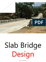 Slab Bridge Design