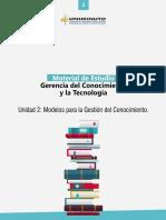 Material Unidad 2_modelos Para La Gestión Del Conocimiento