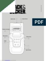 Manual Black&Decker BDM100
