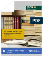Translation Memory Management QSG Fr