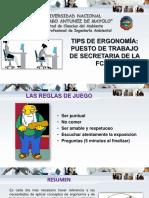 TIPS DE ERGONOMÍA