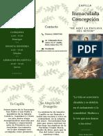Inmaculada Concepción Trípticco (1)