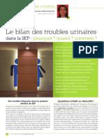 Courrier 139 Dossier Troubles Urinaires