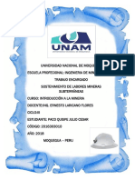 INTRODUCCIÓN Minera Julito