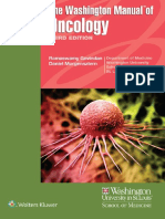 The Washington Manual of Oncology