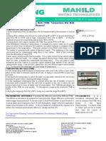 Technical News Letter Nº01 (Mahild Drying Technologies)