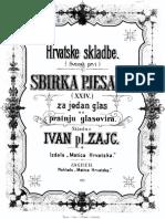 Zajc, Ivan - Zbirka Pjesama XXIV (Vol. 1)
