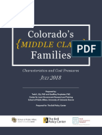 Colorados Middle Class Families
