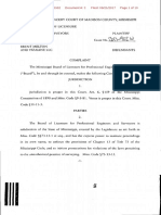 Complaint in surveying case