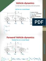 2. Forward Vehicle Dynamics - 1