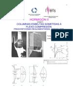 Columnas Esbeltas Sometidas a Flexo-compresión. Prescripciones Reglamentarias. Cirsoc-2005.