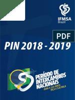 Lista Oficial de Vagas Do Pin 2018-2019 (Final)