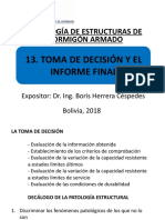 13. Toma de Decisión y El Informe Final