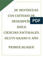 PLAN DE DESTREZAS CCNN 6TO DIEZ.docx