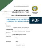Estadistica de 100 Datos UNCP