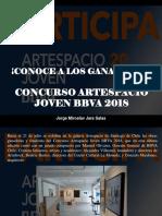 Jorge Miroslav Jara Salas - ¡Conoce a los ganadores!, Concurso Artespacio Joven BBVA 2018