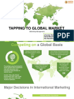 Tapping to Global Market