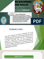 Presentación de Diapositivas-mecánica de Fluidos i.