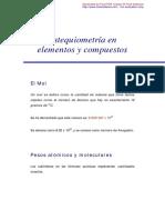 Estequiometria en elementos y compuestos