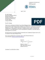 FEMA Approval Letter