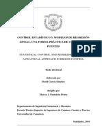 Control Estadístico y Modelos de Regresión Lineal Una Forma Práctica de Control de Puentes