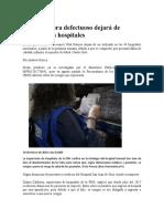 Analisis Servicios Publicos -Salud