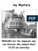 Sign -- Mutiny Mystery