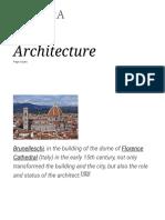 Architecture - Wikipedia