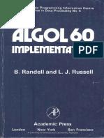 Randell ALGOL 60 Implementation 1964