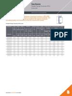 Parallel Flange Channels Pfc Eurocode Data Sheet