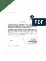 Certificado Universidad Miguel de Cervantes