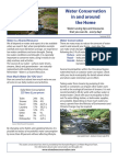 Water Conservation tips from the Otonabee Region Conservation Authority